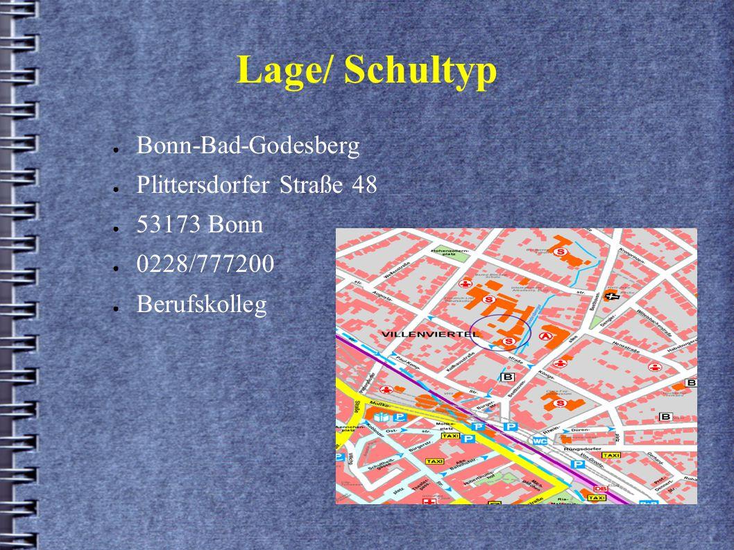 Lage/ Schultyp Bonn-Bad-Godesberg Plittersdorfer Straße 48 53173 Bonn