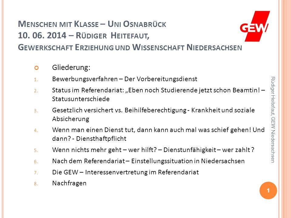 menschen mit klasse uni osnabrck - Bewerbung Referendariat Niedersachsen