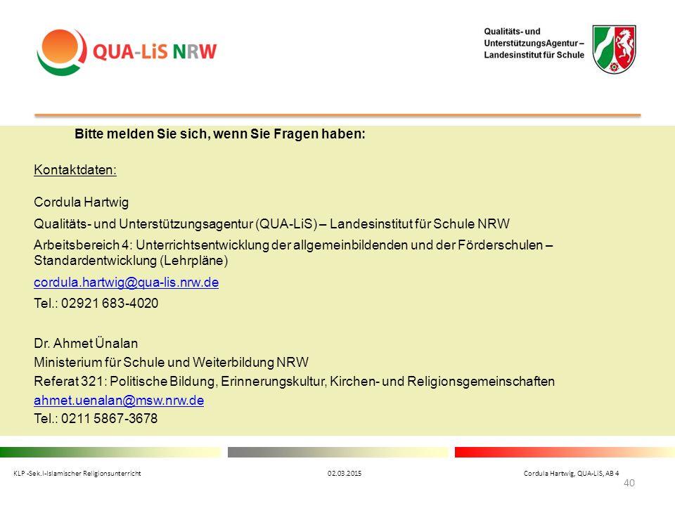 Ministerium für Schule und Weiterbildung NRW