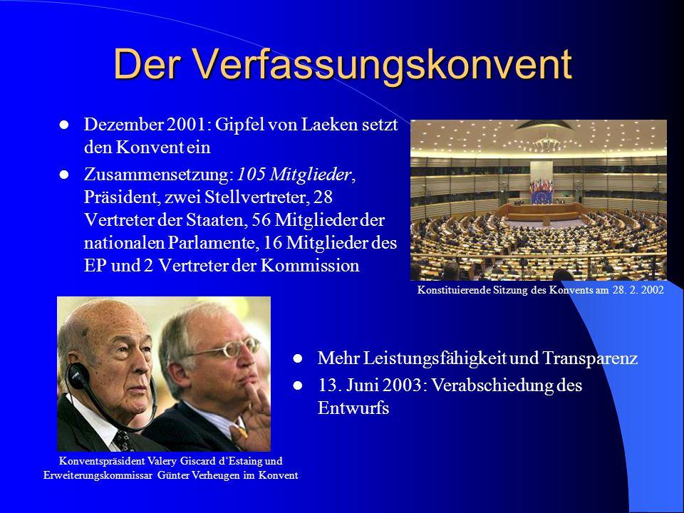 Der Verfassungskonvent