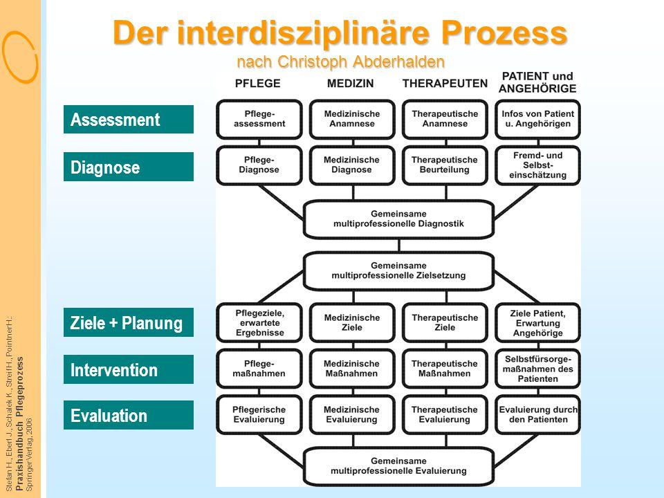 Der interdisziplinäre Prozess nach Christoph Abderhalden