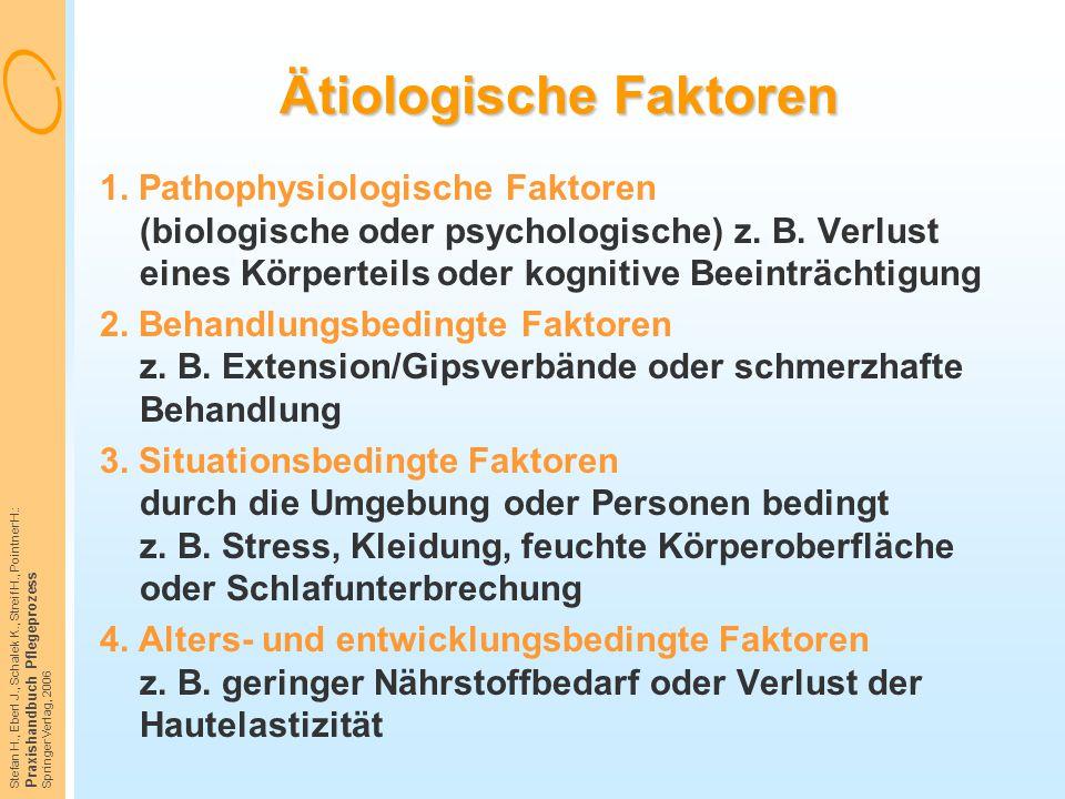 Ätiologische Faktoren