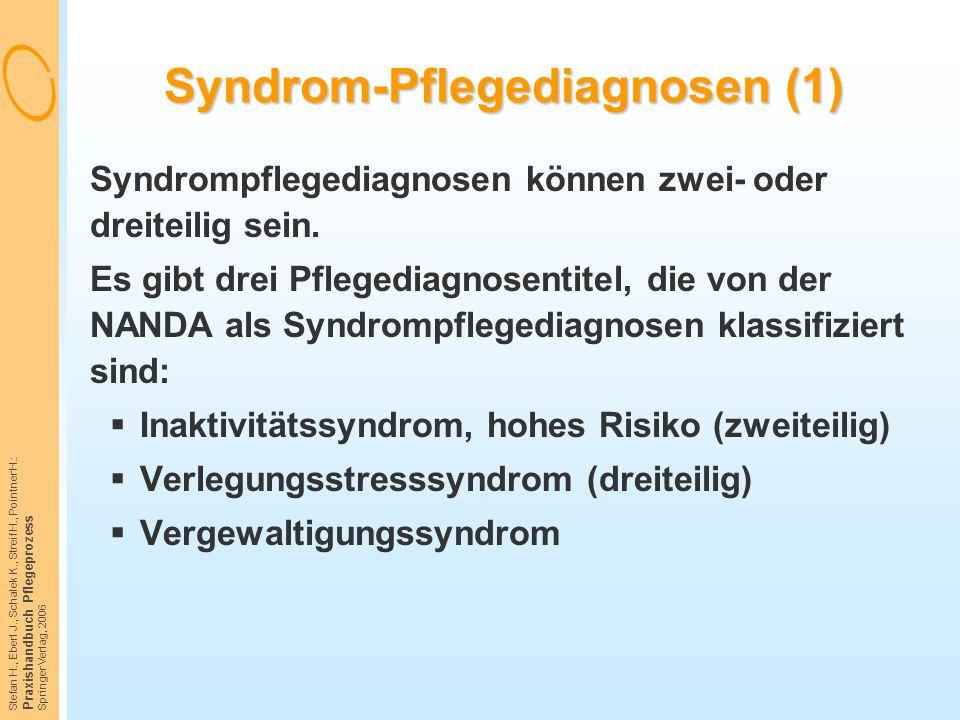 Syndrom-Pflegediagnosen (1)