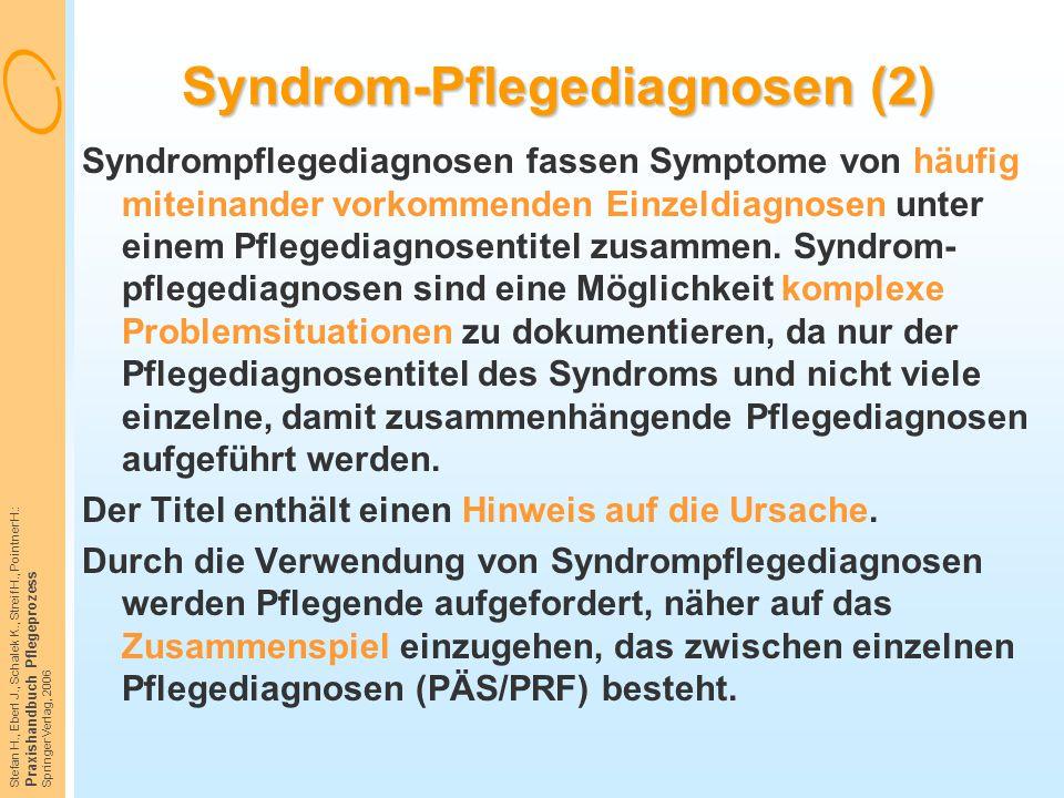 Syndrom-Pflegediagnosen (2)