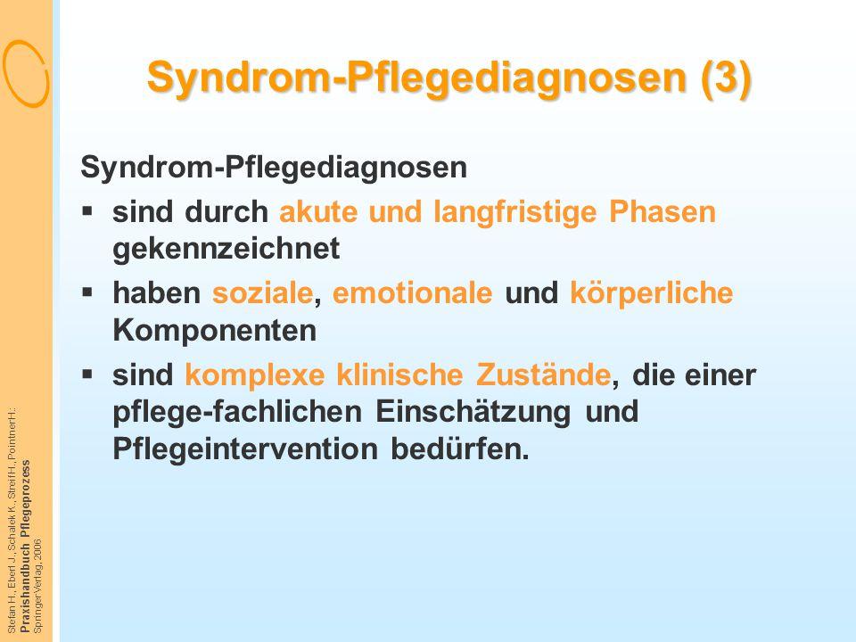 Syndrom-Pflegediagnosen (3)