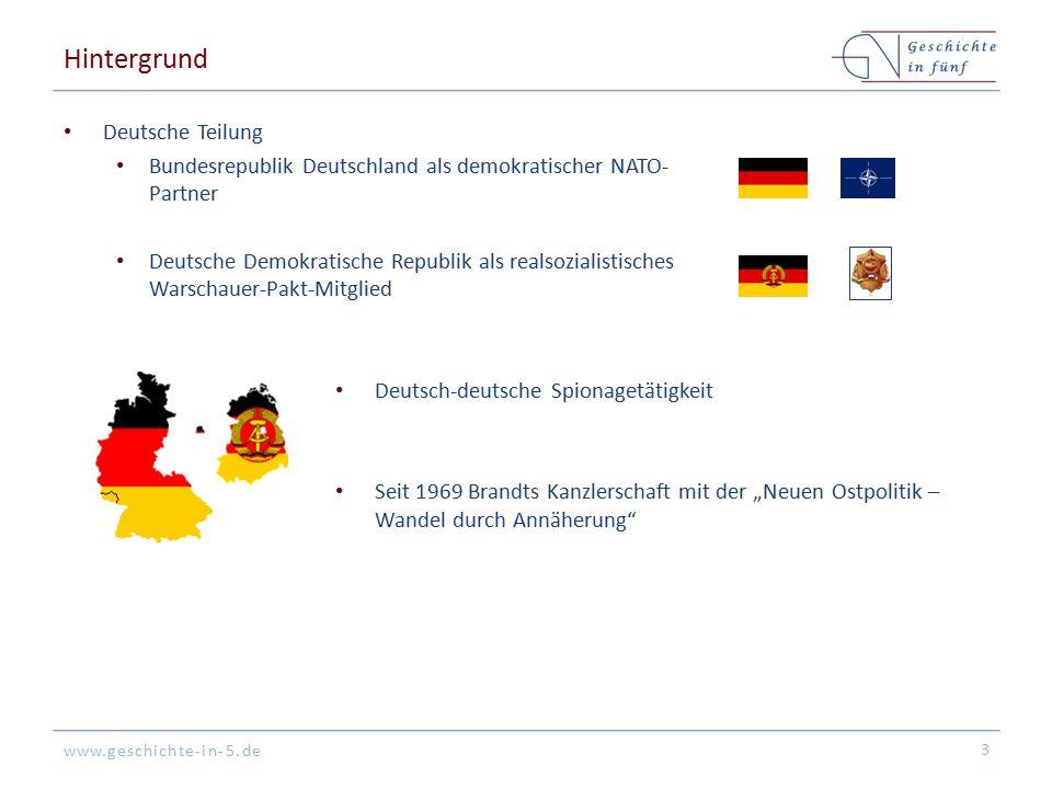 Hintergrund Deutsche Teilung