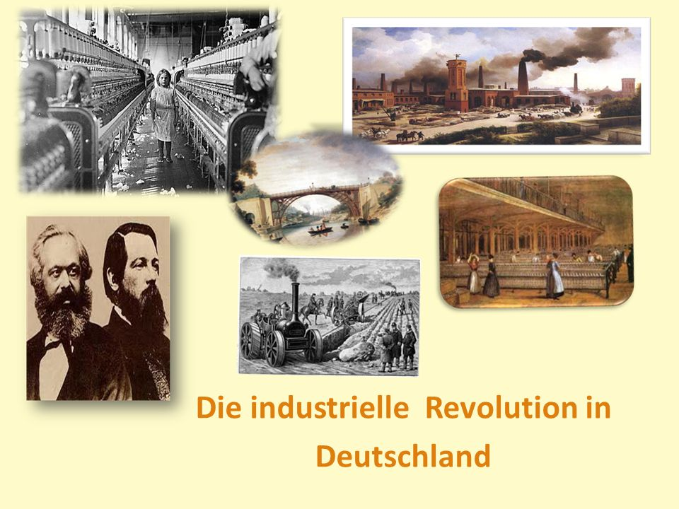 Die industrielle Revolution in