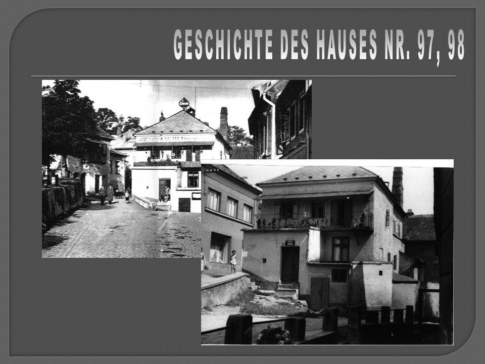 GESCHICHTE DES HAUSES NR. 97, 98