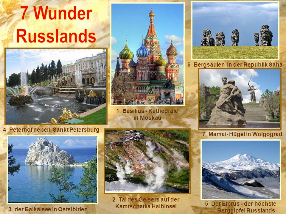 7 Wunder Russlands 6 Bergsäulen in der Republik Saha
