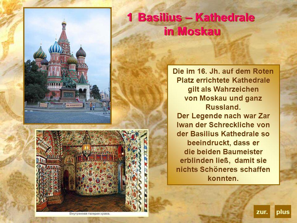 Basilius – Kathedrale in Moskau