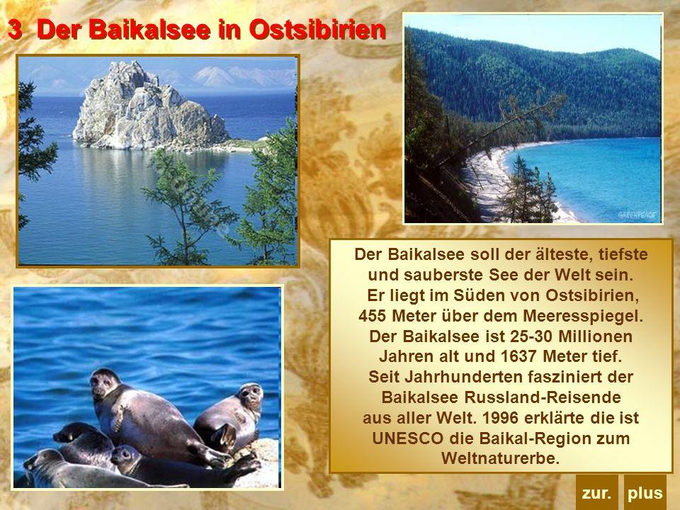 3 Der Baikalsee in Ostsibirien