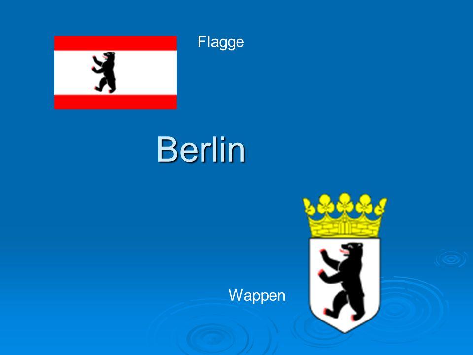 Flagge Berlin Wappen