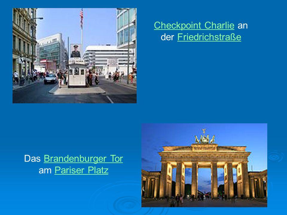 Checkpoint Charlie an der Friedrichstraße