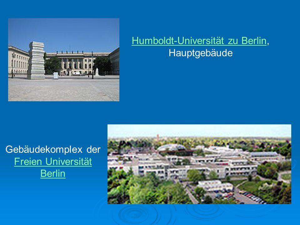 Humboldt-Universität zu Berlin, Hauptgebäude