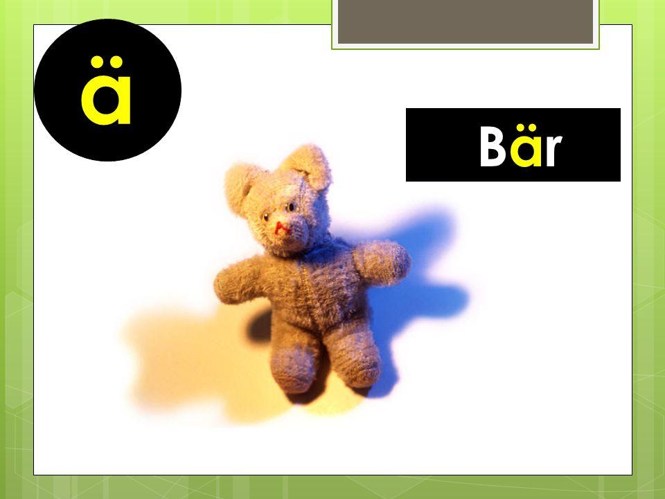 ä Bär