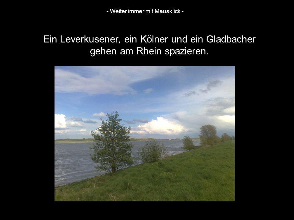 Ein Leverkusener, ein Kölner und ein Gladbacher