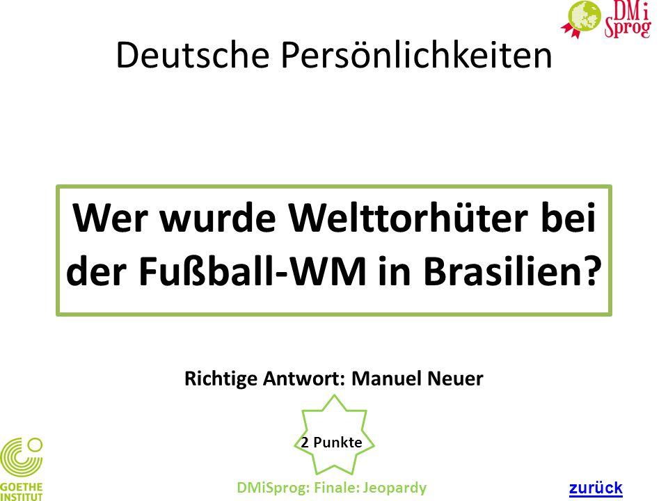Wer wurde Welttorhüter bei der Fußball-WM in Brasilien