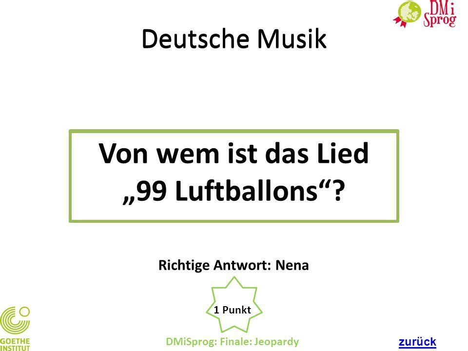 """Von wem ist das Lied """"99 Luftballons"""