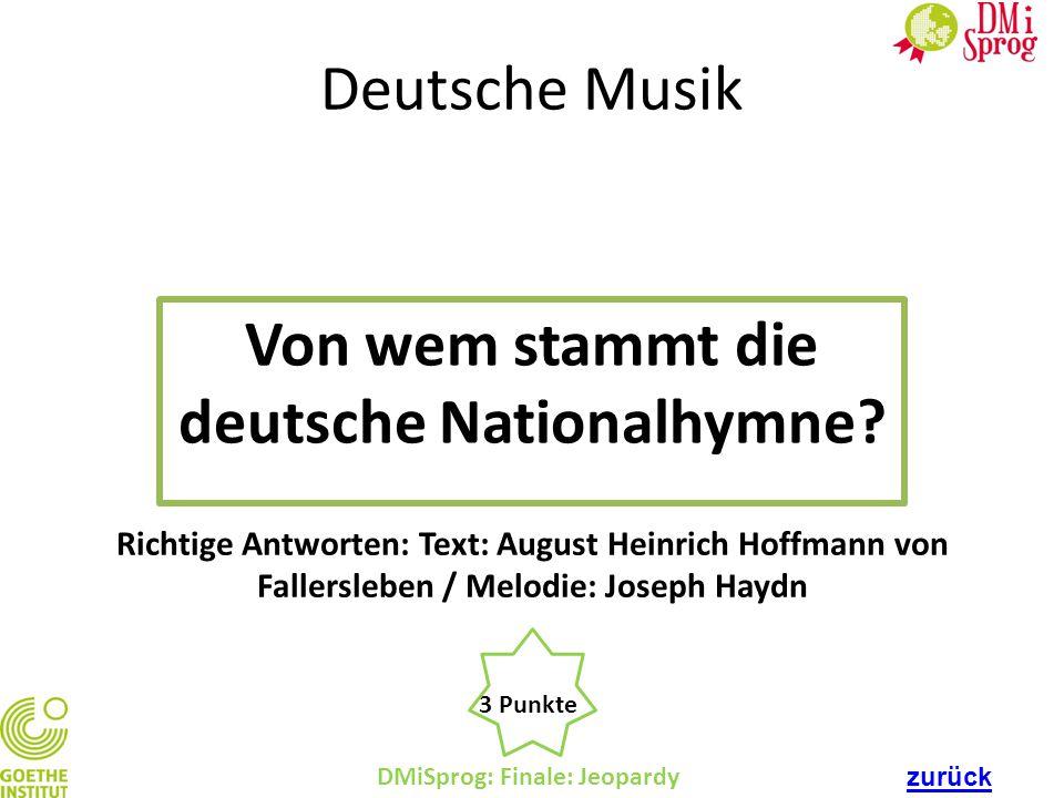 Von wem stammt die deutsche Nationalhymne
