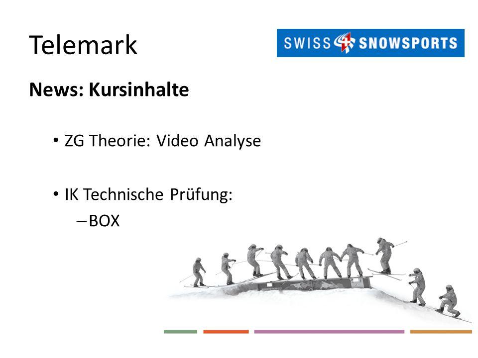 Telemark News: Kursinhalte ZG Theorie: Video Analyse