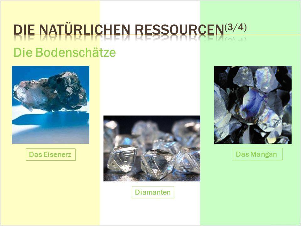 DIE NATÜRLICHEN Ressourcen(3/4)