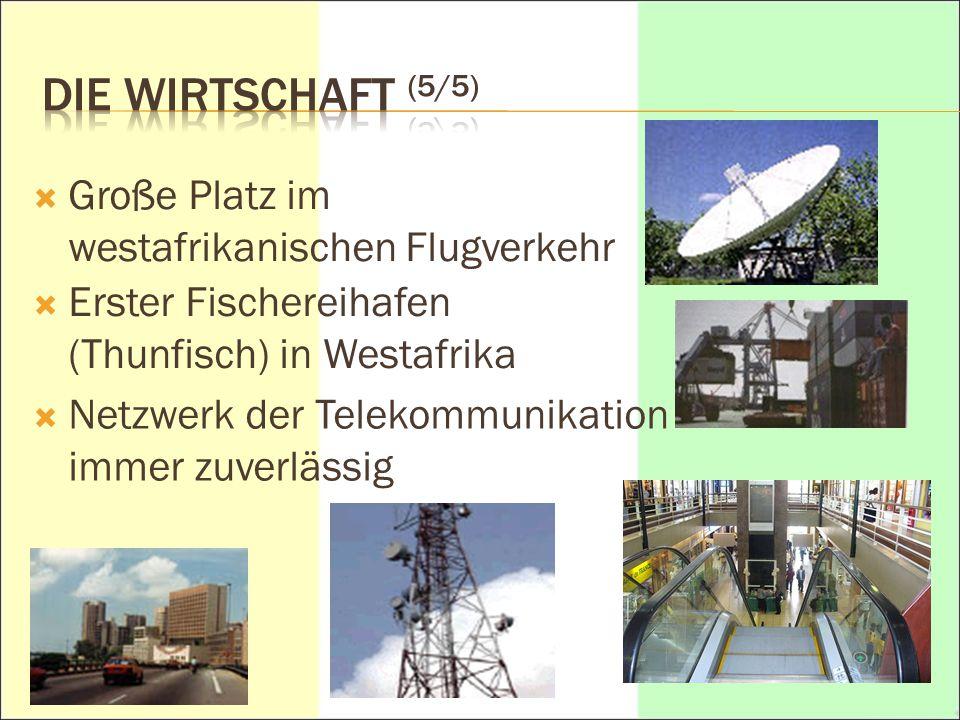 DIE WIRTSCHAFT (5/5) Große Platz im westafrikanischen Flugverkehr