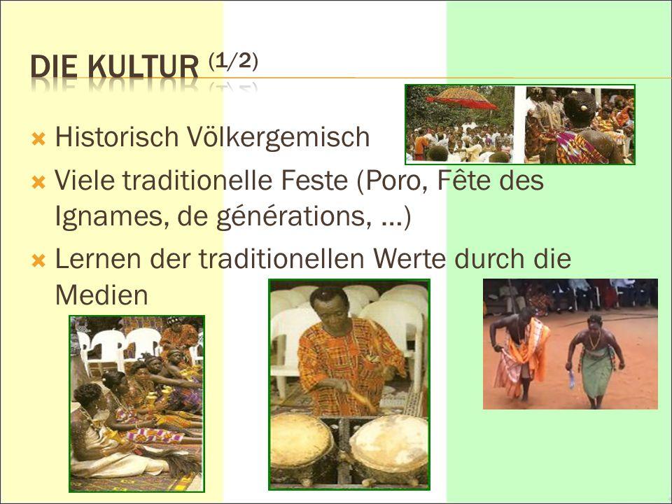 DIE KULTUR (1/2) Historisch Völkergemisch
