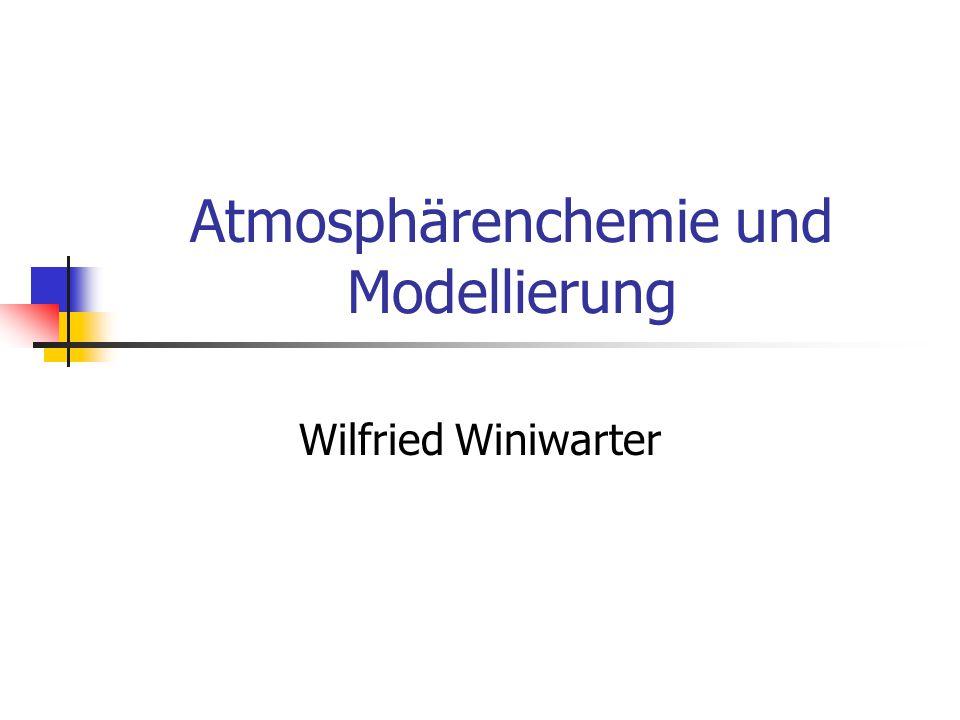 Atmosphärenchemie und Modellierung
