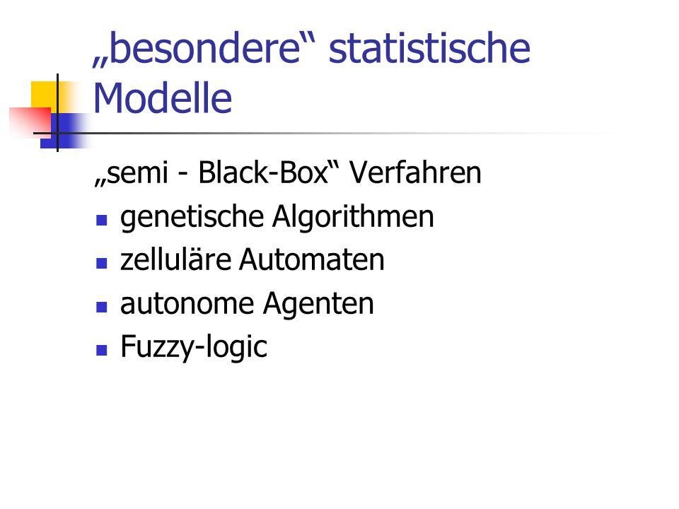 """""""besondere statistische Modelle"""