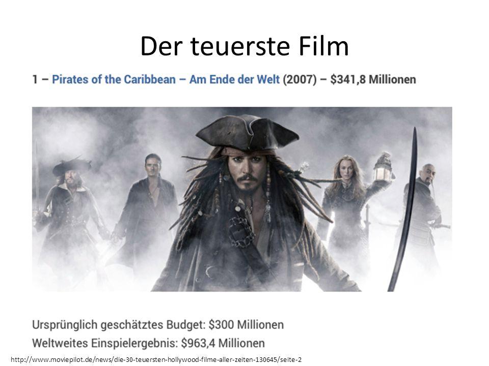 Der teuerste Film http://www.moviepilot.de/news/die-30-teuersten-hollywood-filme-aller-zeiten-130645/seite-2.