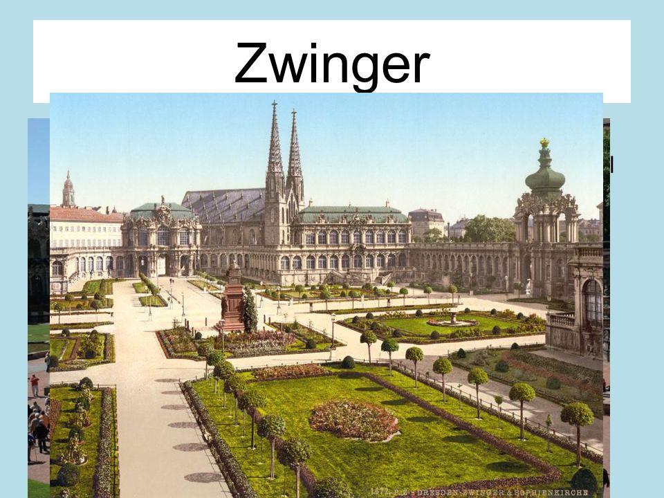 Zwinger Im Rococo Stil gebaut