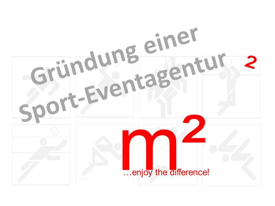 Gründung einer Sport-Eventagentur