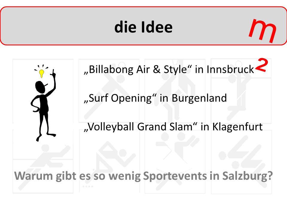 Warum gibt es so wenig Sportevents in Salzburg