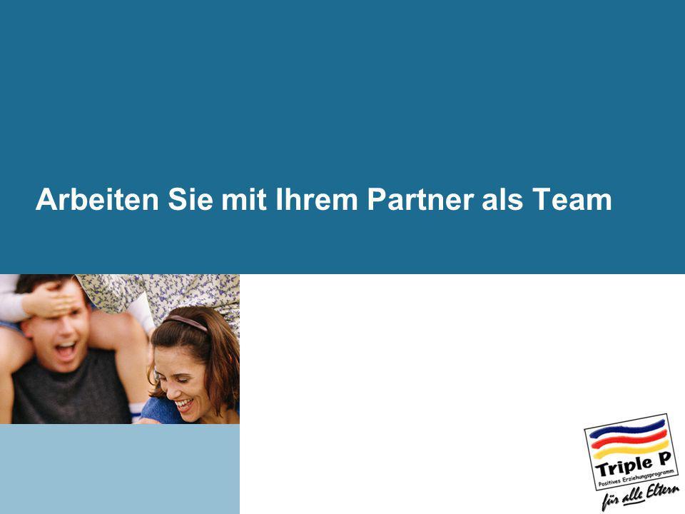Arbeiten Sie mit Ihrem Partner als Team