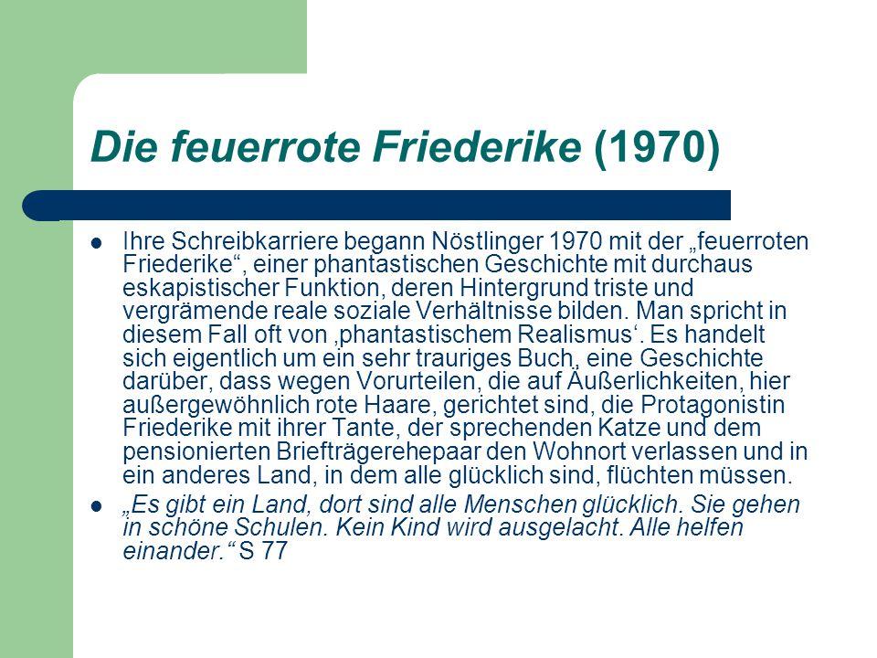 Die feuerrote Friederike (1970)