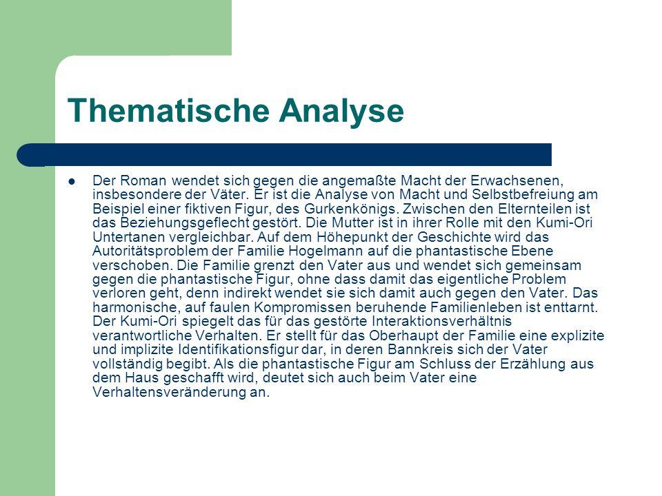 Thematische Analyse