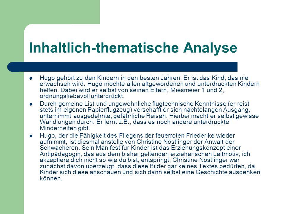 Inhaltlich-thematische Analyse