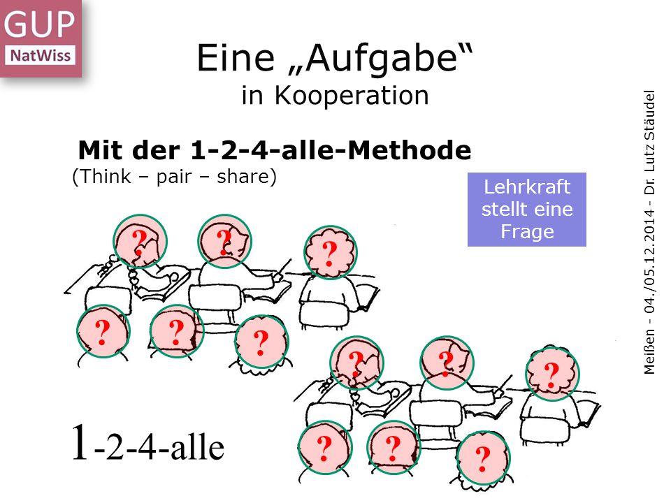"""Eine """"Aufgabe in Kooperation"""