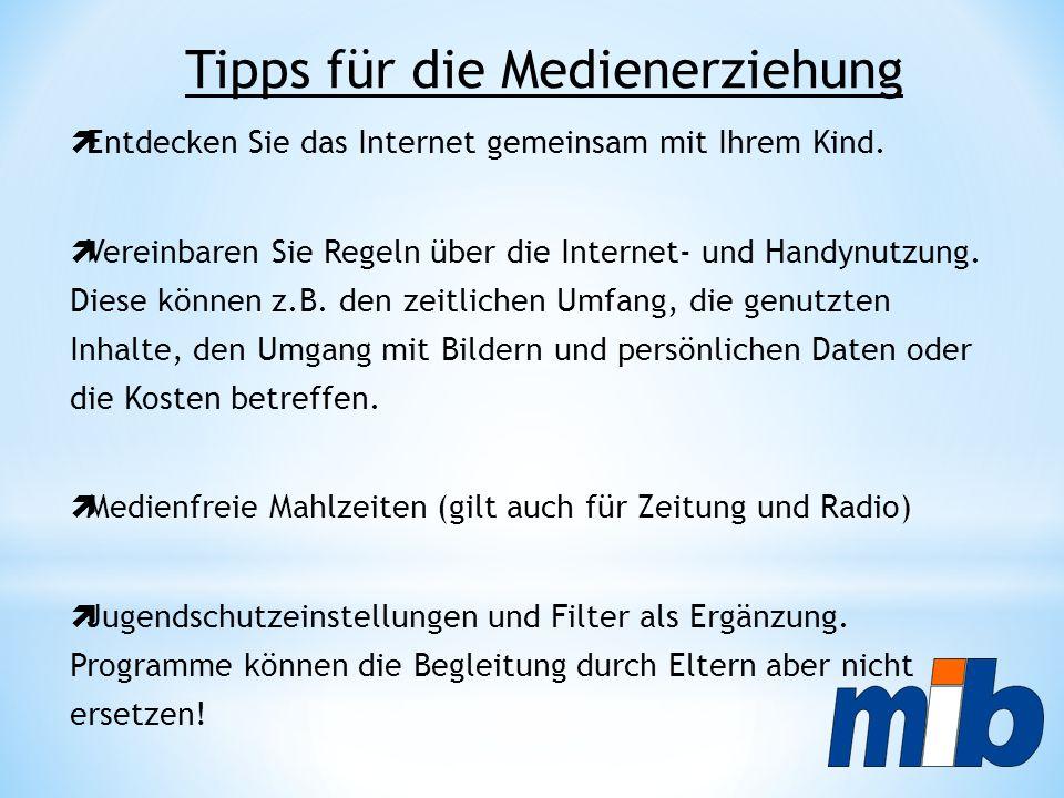 Tipps für die Medienerziehung