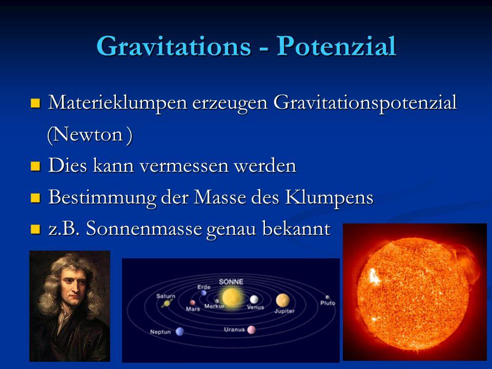 Gravitations - Potenzial