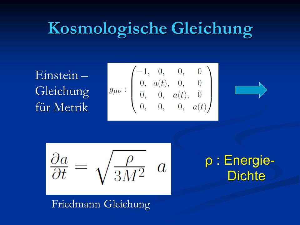 Kosmologische Gleichung