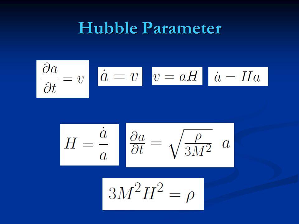 Hubble Parameter