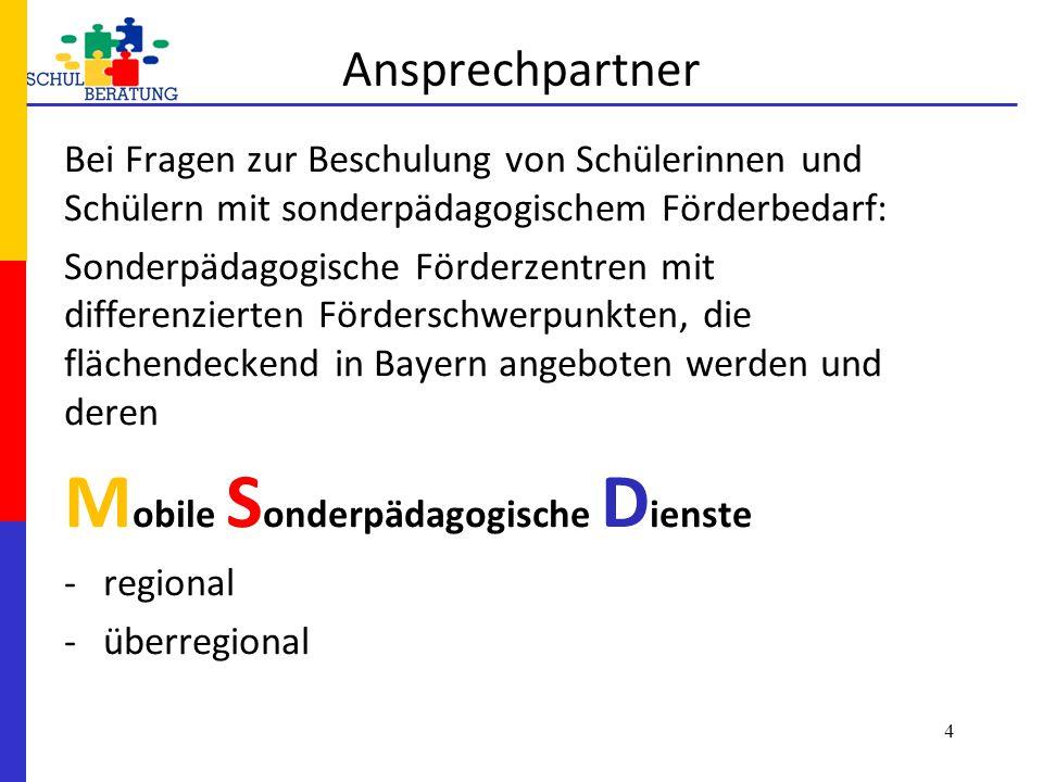 Mobile Sonderpädagogische Dienste
