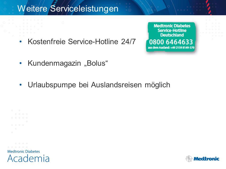 Weitere Serviceleistungen