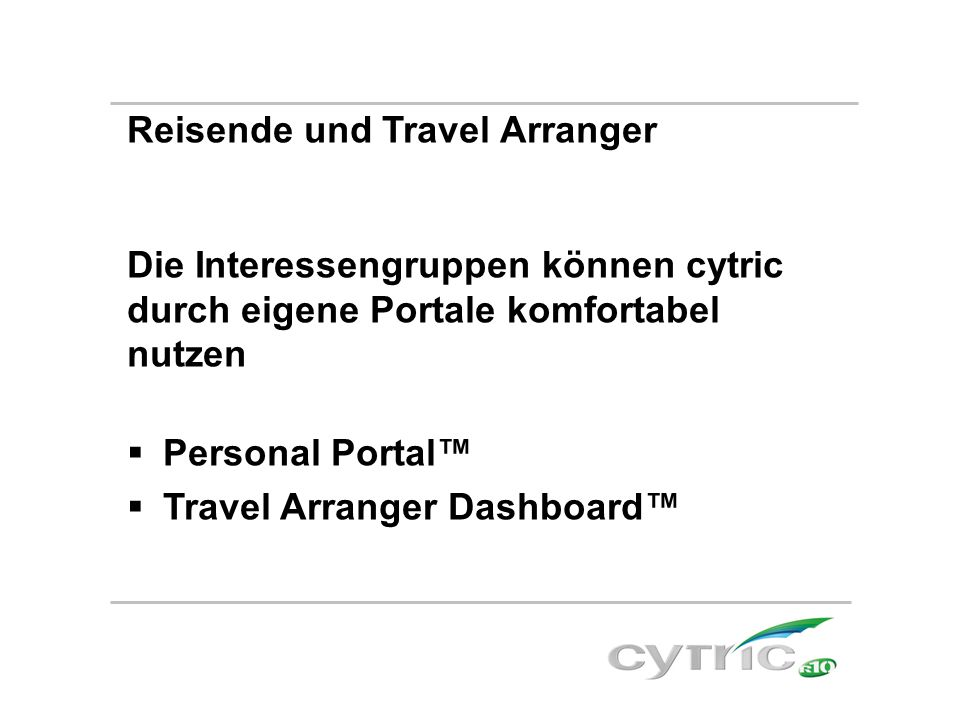 Reisende und Travel Arranger