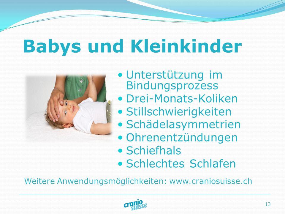 Babys und Kleinkinder Unterstützung im Bindungsprozess