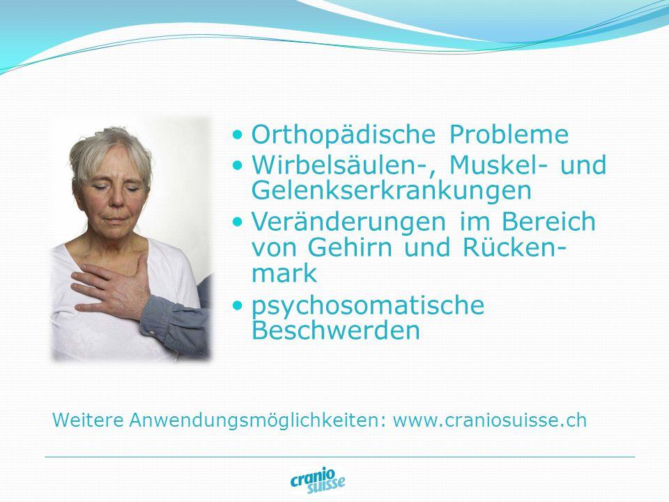 Orthopädische Probleme Wirbelsäulen-, Muskel- und Gelenkserkrankungen