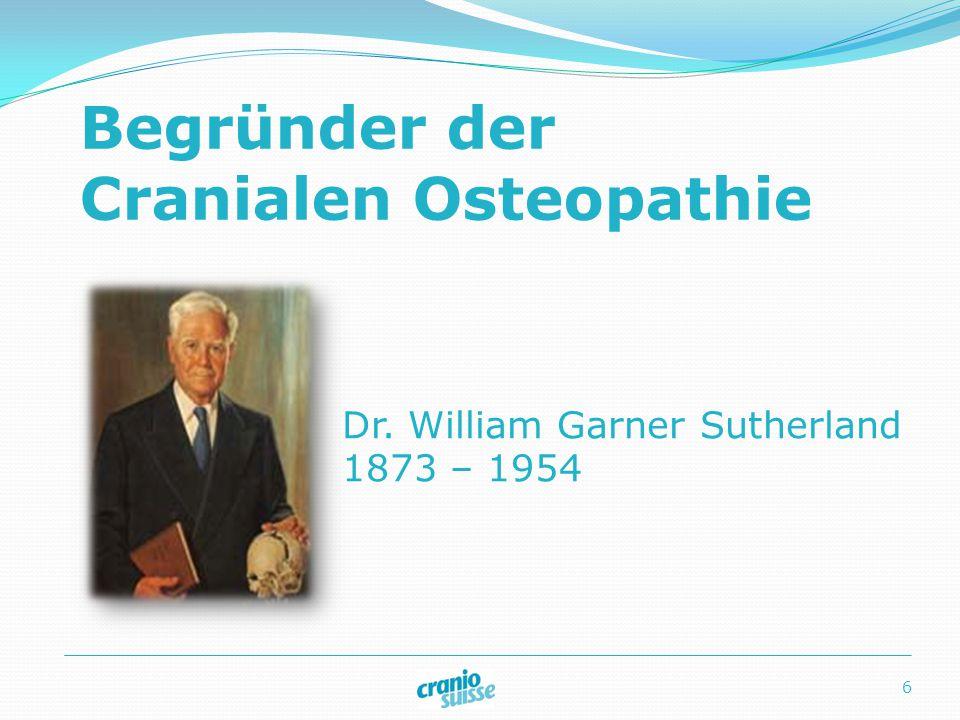 Begründer der Cranialen Osteopathie