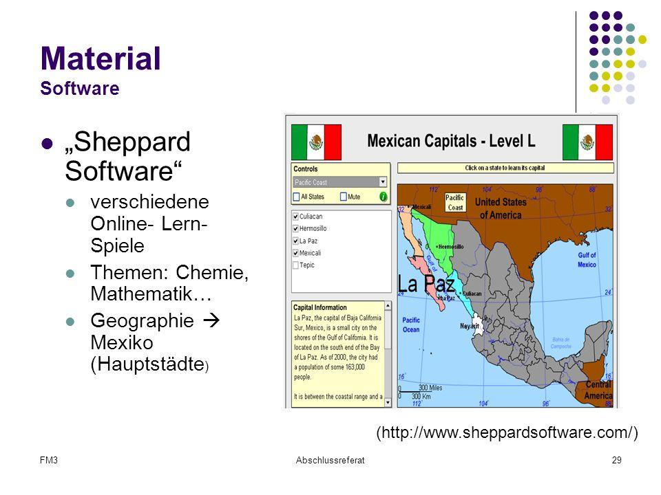 "Material Software ""Sheppard Software"