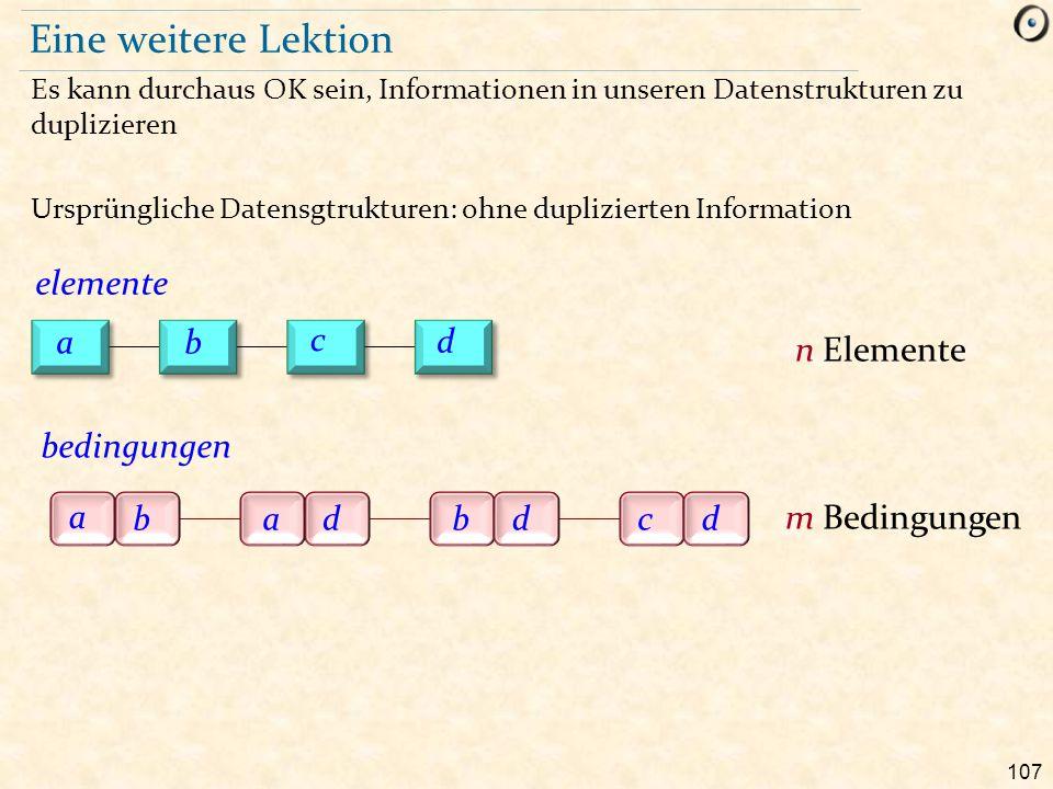 Eine weitere Lektion elemente a b c d n Elemente bedingungen a b a d b
